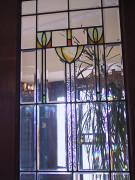 Edwardian-style window in a bungalow