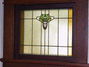 Art Nouveau/Edwardian window in an Arts & Crafts house