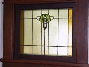 Art Nouveau/Edwardian window in an Arts & Crafts house