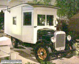 1923 Nomad house-car