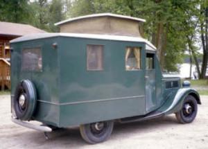 1937 Ford house-car
