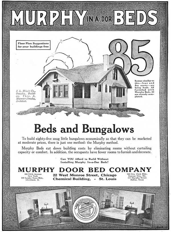Full-page advertisement from a 1924 issue of American Builder Magazine, published in Chicago.