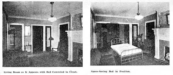Two images from the July 1920 issue of American Builder magazine, published in Chicago.
