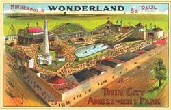 Postcard of Wonderland Park.