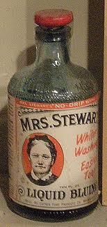 Vintage bluing bottle.