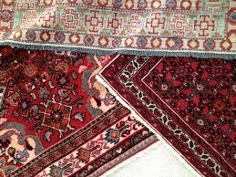 Oriental rugs.