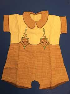child's garment.