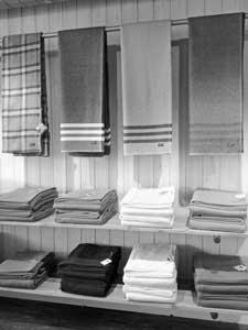 Faribault wool blankets.