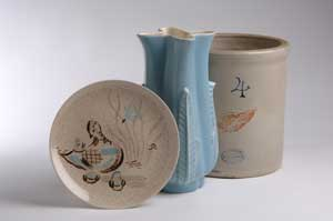 Red Wing Pottery.