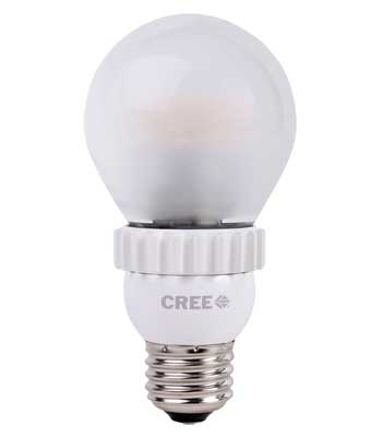 Cree LED lightbulb.