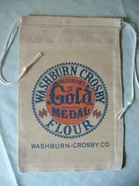 Gold Medal flour sack.