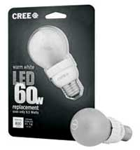 LED bulb and package.