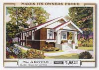Mail order house ad.