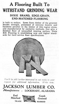 1926 Lumber ad.