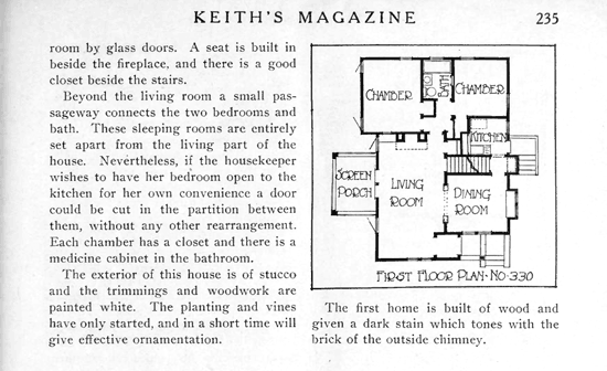 Keith's Magazine: The Bungalow in the North