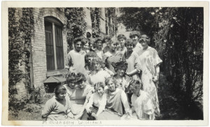 vintage photo of students.