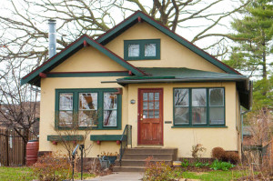 Birthplace of the Twin Cities Bungalow  Club—Kristi Johnson's bungalow in the Longfellow neighborhood of Minneapolis.