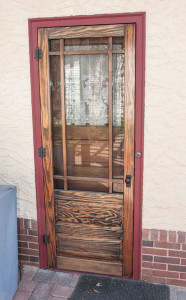 Wood Storm Screen Doors For Bungalows Twin Cities