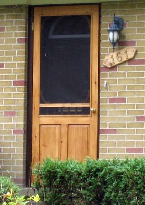 Storm screen door combination options twin cities for Door and screen door combo