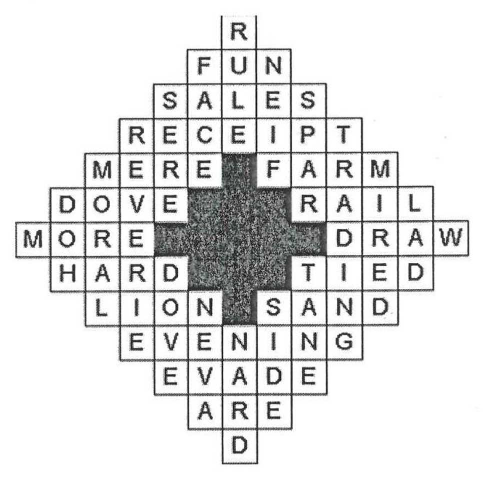 crossword answer grid