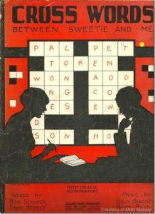 crossword sheet music