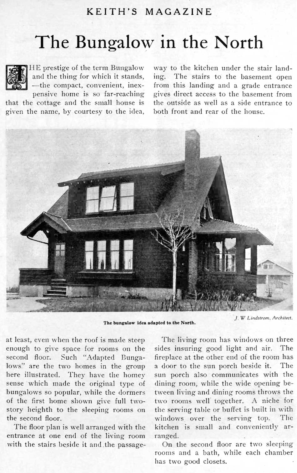 Page 1 of The Bungalow in the North