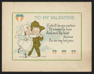 valentine of nurse and soldier.