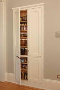 Built-in cupboard.