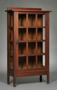 Photo of Arts & Crafts cabinet.
