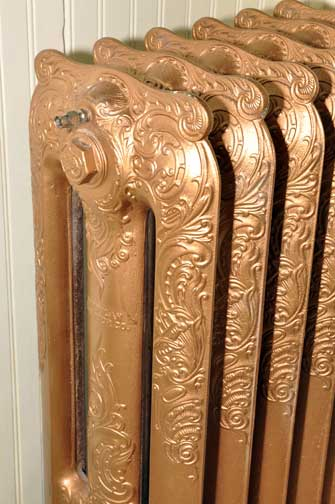 ornate radiator