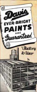 Davis paint ad