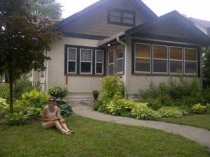Deb's bungalow.
