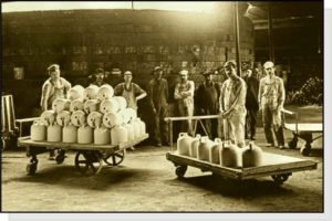 workers with jugs