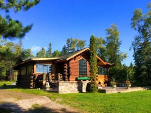 French River cabin.