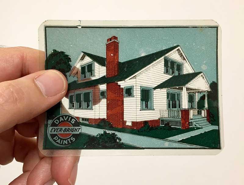 Paint card