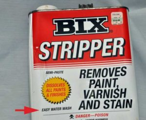 BIX paint stripper