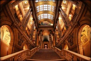 Minnesota State Capitol staircase