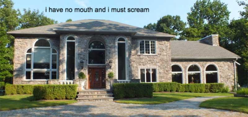 McMansion scream