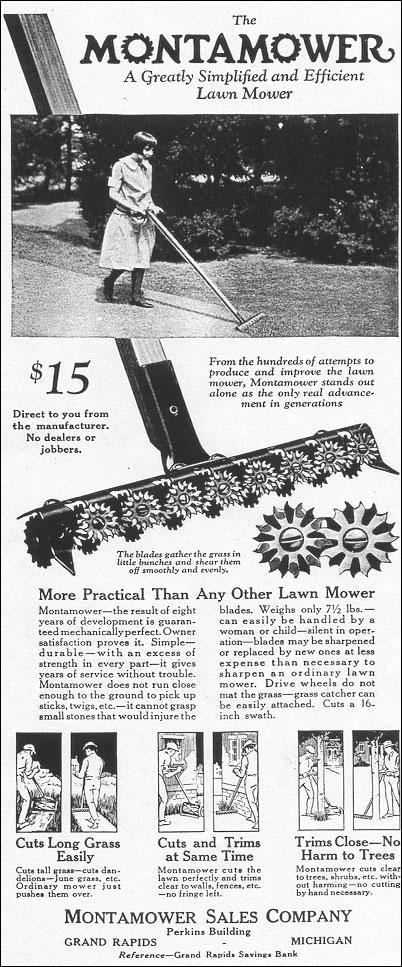 MontaMower ad.