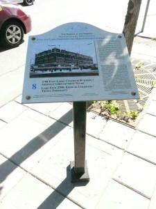sign on Lake Street.