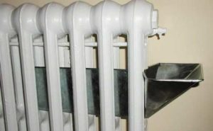 photo of reservoir in radiator.