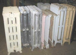 Salvage radiators.