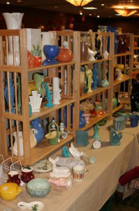 Red Wing Pottery booth.