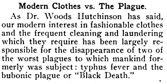 Modern Clothes vs. the Plague article.