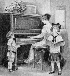 1913 Vose Piano ad.