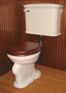 Lydia toilet.