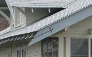 Letter from the editor twin cities bungalow club for Decorative rafter tails