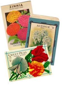 Seed packs.
