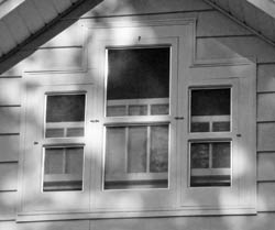 When I Remodeled My Half Story Upstairs Level Into A Master Bedroom Needed To Replace The Inexpensive Improperly Ed Windows That Had Replaced